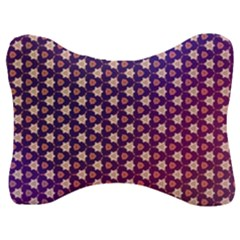 Texture Background Pattern Velour Seat Head Rest Cushion