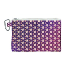 Texture Background Pattern Canvas Cosmetic Bag (medium)