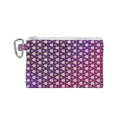 Texture Background Pattern Canvas Cosmetic Bag (small)