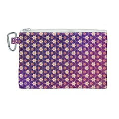 Texture Background Pattern Canvas Cosmetic Bag (large)