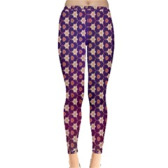 Texture Background Pattern Inside Out Leggings