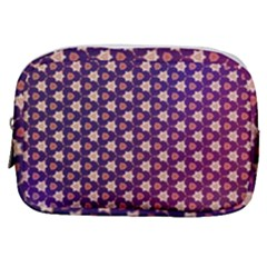 Texture Background Pattern Make Up Pouch (small)