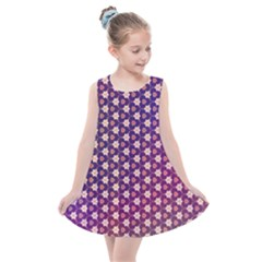 Texture Background Pattern Kids  Summer Dress