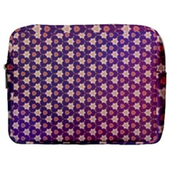 Texture Background Pattern Make Up Pouch (large)
