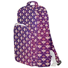 Texture Background Pattern Double Compartment Backpack