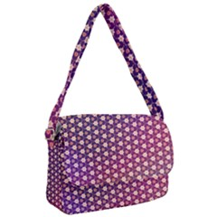 Texture Background Pattern Courier Bag