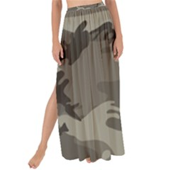 Camo Grey Maxi Chiffon Tie Up Sarong
