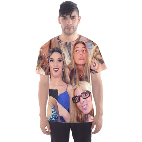 Lele Pons - Funny Faces Men s Sports Mesh Tee by Valentinaart
