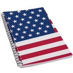 American Flag 5 5  X 8 5  Notebook by Valentinaart