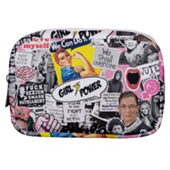 Feminism Collage  Make Up Pouch (small) by Valentinaart