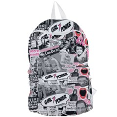 Feminism Collage  Foldable Lightweight Backpack
