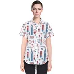 London Love Women s Short Sleeve Shirt by lucia