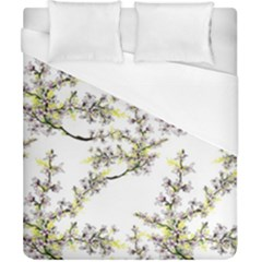 Spring Leaves Pattern Duvet Cover (california King Size) by goljakoff
