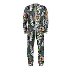 Vintage flowers and birds pattern OnePiece Jumpsuit (Kids)