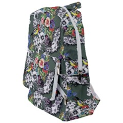 Vintage flowers and birds pattern Travelers  Backpack