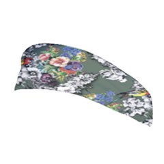 Vintage flowers and birds pattern Stretchable Headband