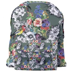 Vintage flowers and birds pattern Giant Full Print Backpack