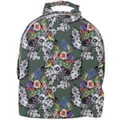 Vintage flowers and birds pattern Mini Full Print Backpack