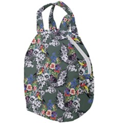 Vintage flowers and birds pattern Travel Backpacks