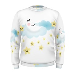 Moon Star Dream Night Men s Sweatshirt