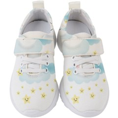 Moon Star Dream Night Kids  Velcro Strap Shoes