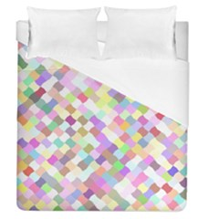 Mosaic Colorful Pattern Geometric Duvet Cover (queen Size)