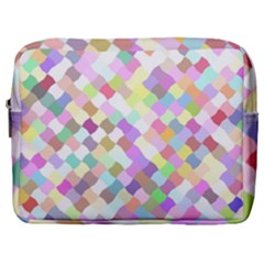 Mosaic Colorful Pattern Geometric Make Up Pouch (large)
