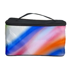 Vivid Colorful Wavy Abstract Print Cosmetic Storage