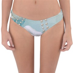 Wonderful Roses In Soft Colors Reversible Hipster Bikini Bottoms by FantasyWorld7