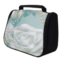 Wonderful Roses In Soft Colors Full Print Travel Pouch (small)