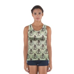 Awesome Chinese Dragon Pattern Sport Tank Top  by FantasyWorld7