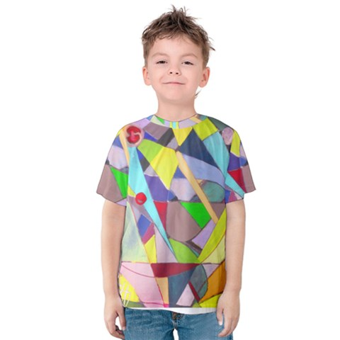 Anthropod6a Kids  Cotton Tee by plaides
