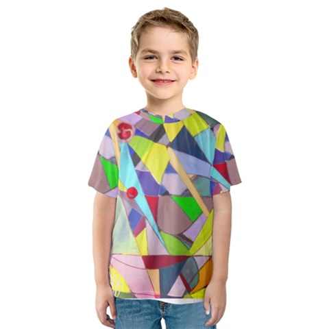 Anthropod6a Kids  Sport Mesh Tee by plaides