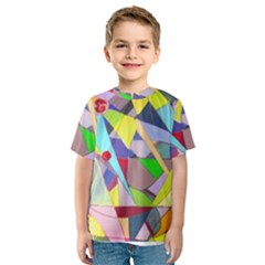 Anthropod6a Kids  Sport Mesh Tee