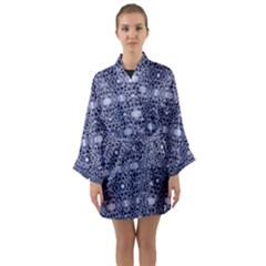 Chinoiserie Dandy Long Sleeve Kimono Robe by Tiffied