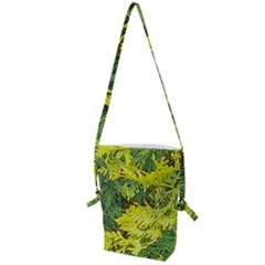 Garden Of The Phoenix Folding Shoulder Bag