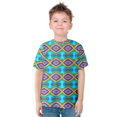 Abstract Colorful Unique Kids  Cotton Tee