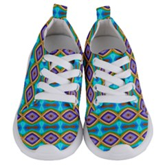 Abstract Colorful Unique Kids  Lightweight Sports Shoes