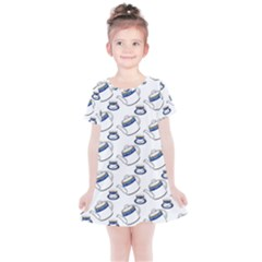 Tea Teacup Teapot Kitchen Kids  Simple Cotton Dress