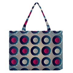 Background Colorful Abstract Zipper Medium Tote Bag