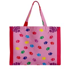Cupcakes Food Dessert Celebration Zipper Mini Tote Bag