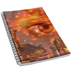 Eye Butterfly Evening Sky 5 5  X 8 5  Notebook
