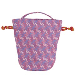 Pattern Abstract Squiggles Gliftex Drawstring Bucket Bag