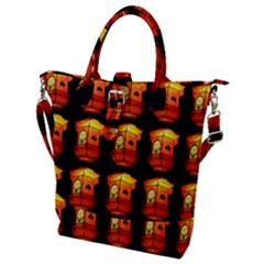 Paper Lantern Chinese Celebration Buckle Top Tote Bag