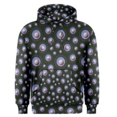 Seamless Pattern Background Circle Men s Pullover Hoodie
