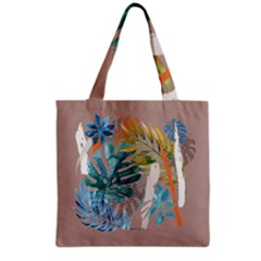 Capella Brown Grocery Tote Bag by tangdynasty