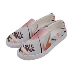 Memo Foral Women s Canvas Slip Ons by tangdynasty