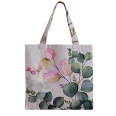 Peony To Be Grocery Tote Bag by tangdynasty