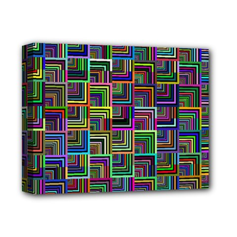 Wallpaper Background Colorful Deluxe Canvas 14  X 11  (stretched)