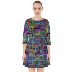 Wallpaper Background Colorful Smock Dress